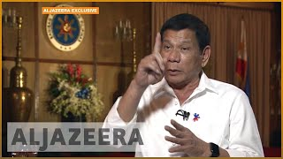 Exclusive: Philippines president Duterte to continue war on drugs