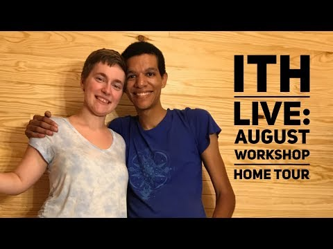 Incredible Tiny Homes Live:  August Workshop Home Tour