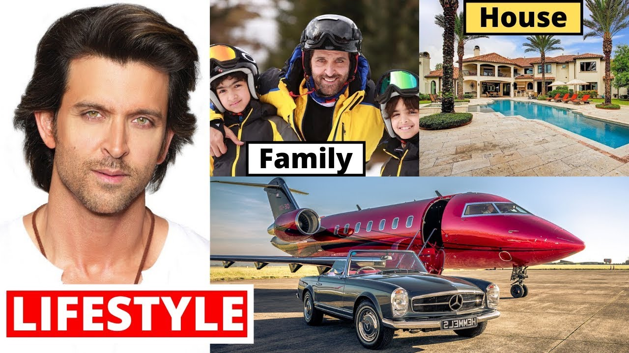 Hrithik Roshan Lifestyle 2020, Wife, Income, Son, House, Cars, Family, Biography & Net Worth