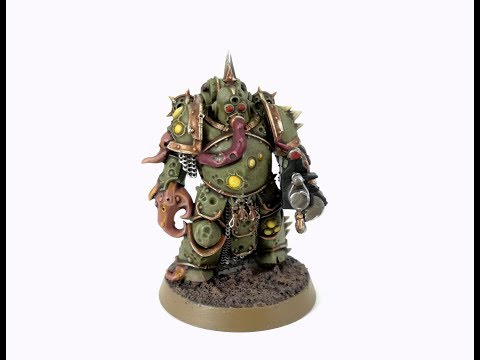 How I Paint Things - Death Guard Plague Marines