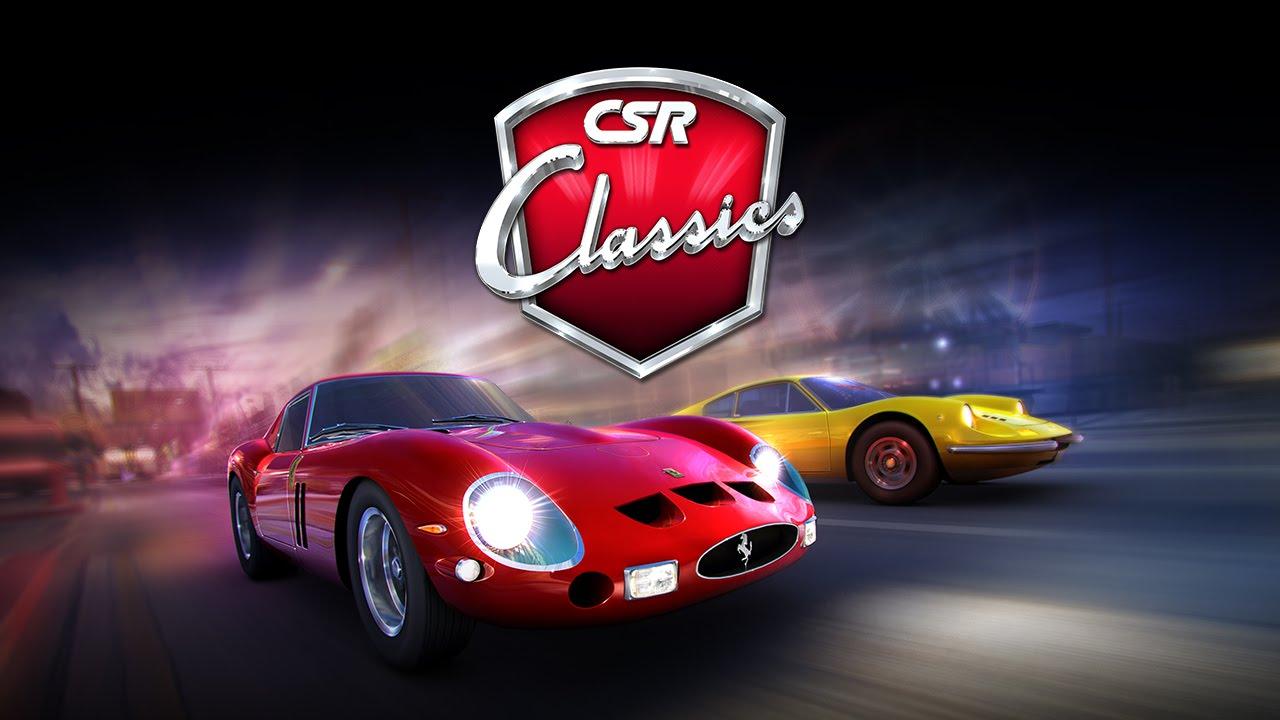 لعبه CSR Classics v1.12.0 مهكره جاهزه (سباقات)