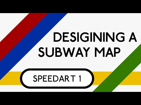 Build Your Own Subway Map.Designing A Subway Map Adobe Illustrator Speedart Youtube