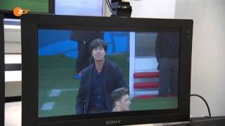 ZDF heute nacht - Lippenlesen bei der Fußball WM