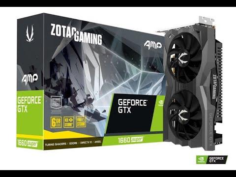 Zotac PCI-Ex GeForce GTX 1660 Super AMP 6GB GDDR6 (192bit) (1845/14000) (HDMI, 3 x DisplayPort) (ZT-T16620D-10M)