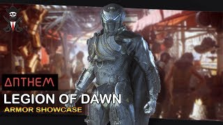ANTHEM GAME - LEGION of DAWN ARMOR | Storm (how to find) - Armor Showcase [2019]
