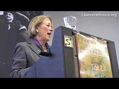 Niki Tsongas - Bread & Roses Centennial Excerpt by Lorre Fritchy