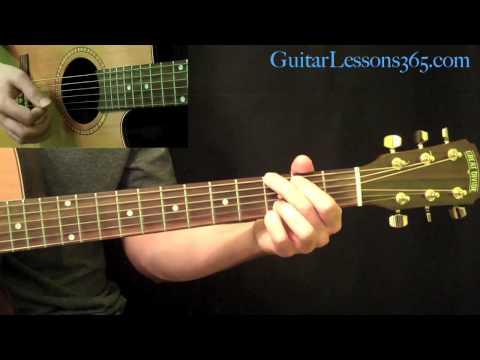 wanted dead or alive guitar lesson pt.1 - bon jovi - intro & all rhythms