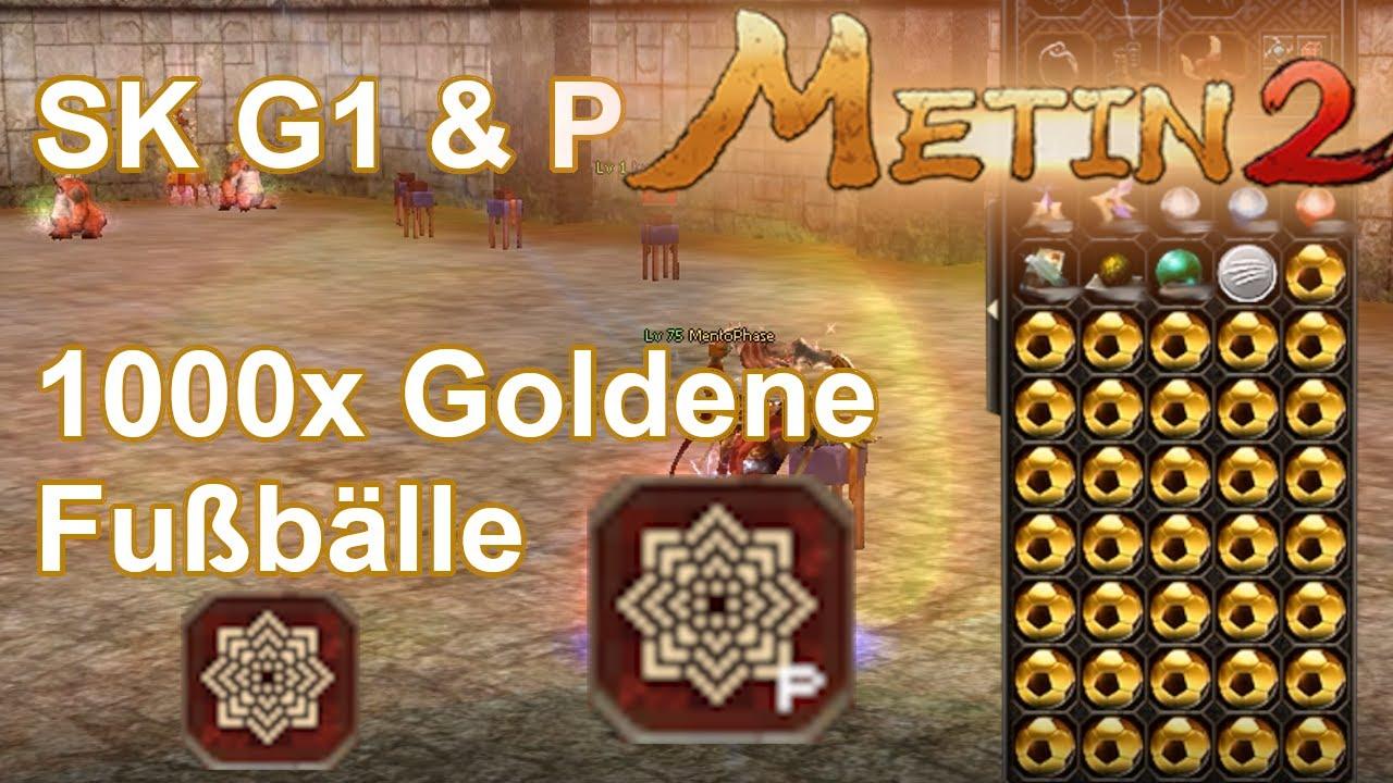 Metin2 Azrael Wranken SK G1 & P 1000x Goldene Fußbälle #08