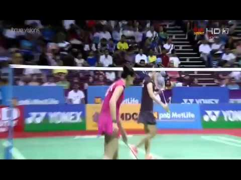2015 Yonex Sunrise India Open SF [WS] Ratchanok Intanon vs Carolina Marin  (True Sport HD3) mp4