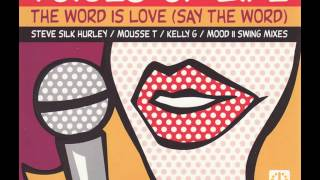 "The Word Is Love (Silk´s Anthem 12"") featuring Sharon Pass"