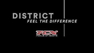 TCX // DISTRICT WATERPROOF – Feel the difference