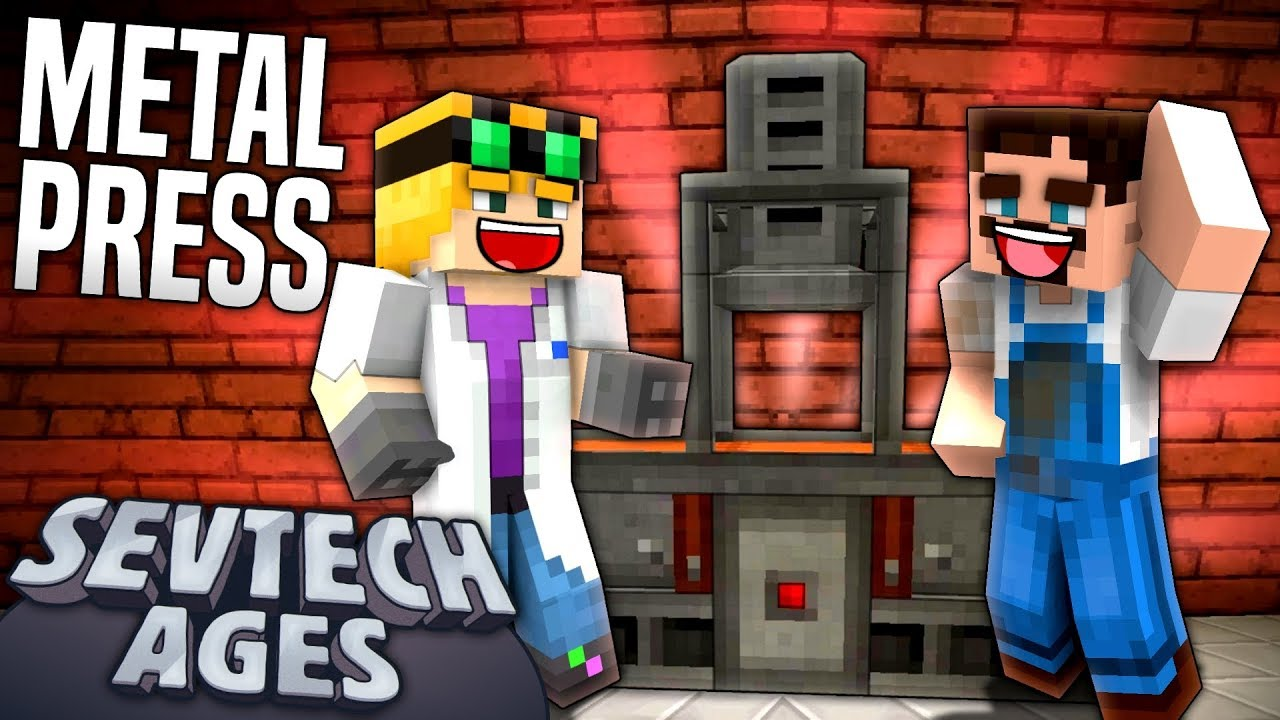 Minecraft: SevTech - METAL PRESS - Age 3 #11