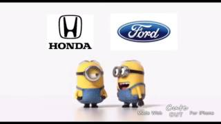 Honda vs Ford Minions