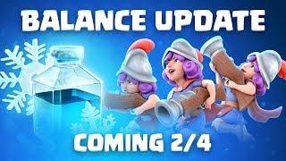 Clash Royale: Balance Update Live! (2/4)