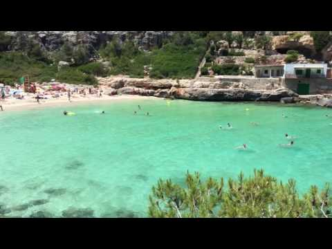Cala Llombards Beach Mallorca Spain 2017