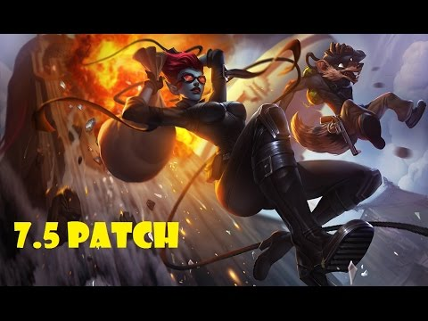 Jezcp Evelynn vs Pantheon - Jungle - Victory - Master Tier NA - patch 7.5 - Season 7