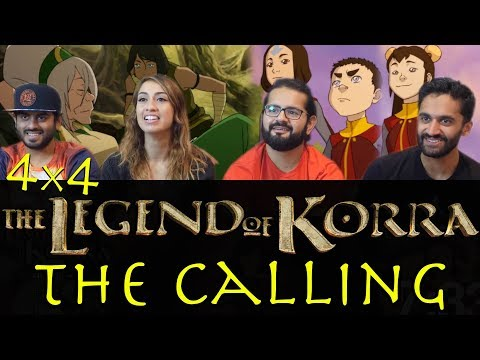 The Legend of Korra - 4x4 The Calling - Group Reaction