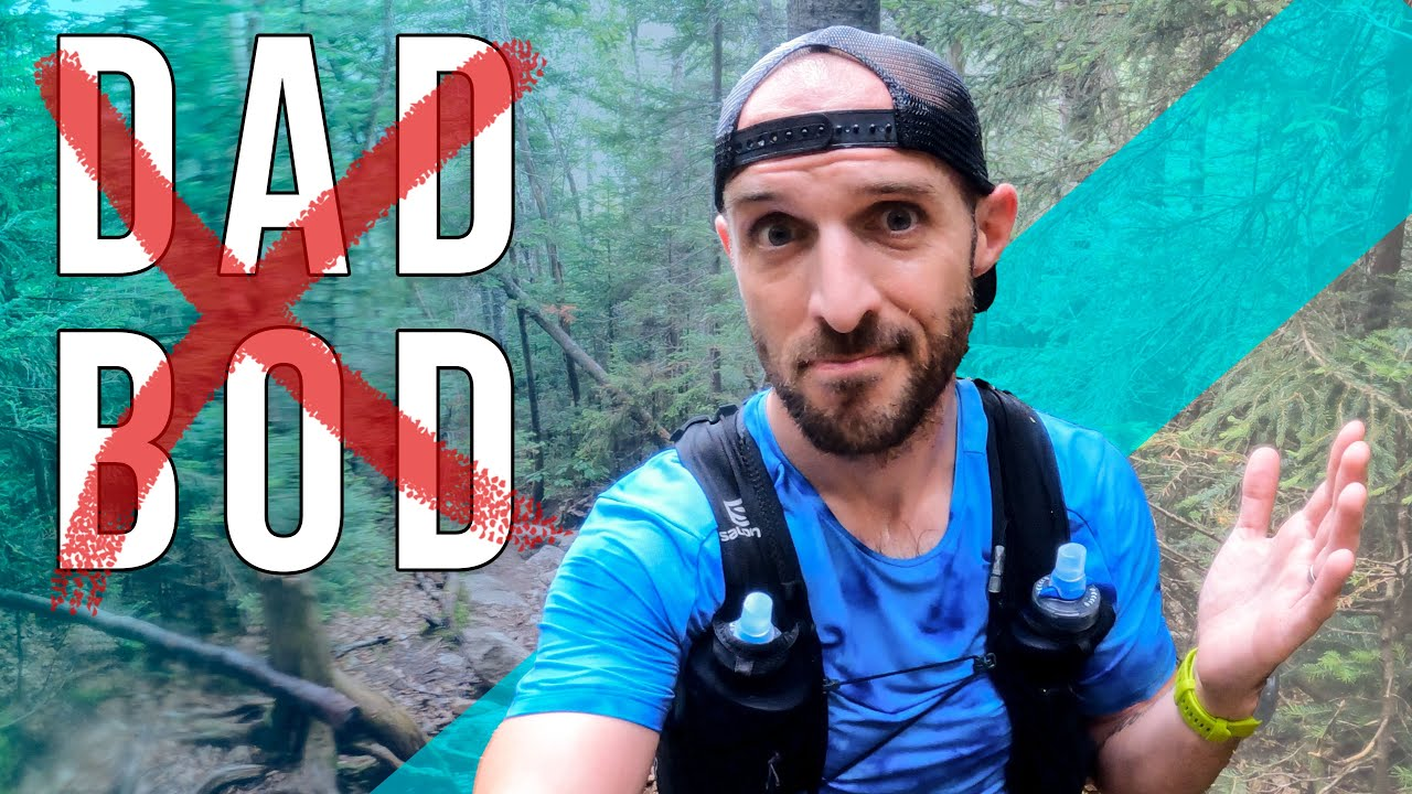 How I Avoid the Dad Bod // Trail Run Vlog