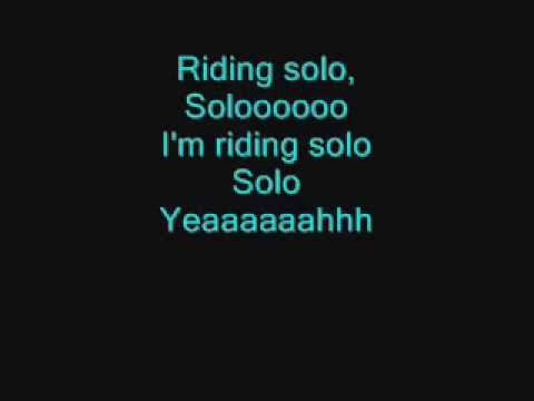 Jason Derulo  Riding Solo Lyrics