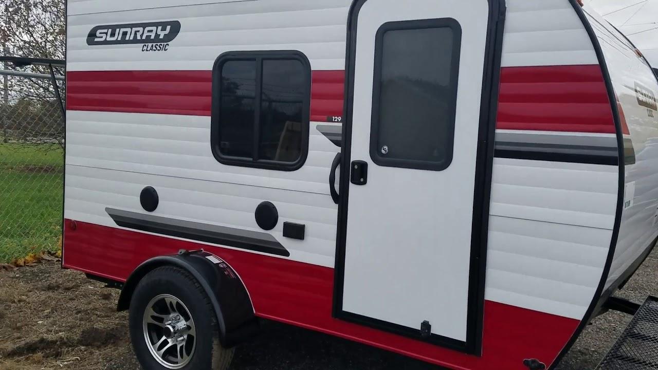 Sunset RV Sunray 149 14/' Camper Traveler Trailer Cover