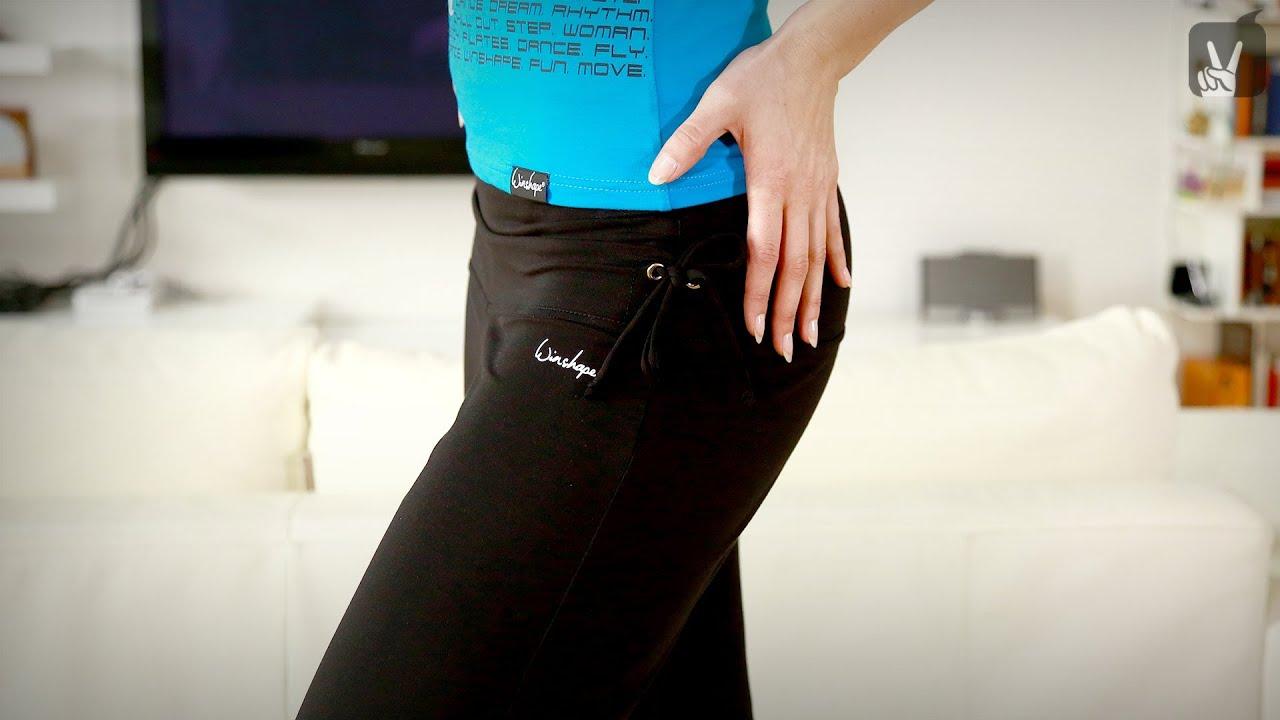 free fitness workout bungen f r schlanke beine mit lenka. Black Bedroom Furniture Sets. Home Design Ideas