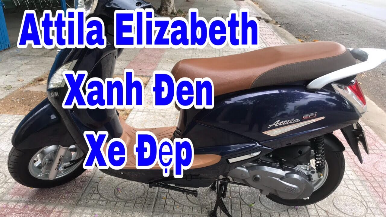 Bán Xe Attila Elizabeth Xanh Đen – Chuyên Xe Cũ Tiền Giang