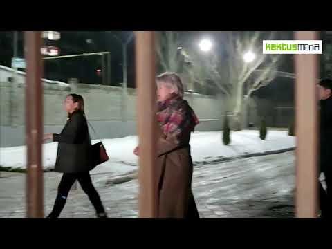 Карамушкина, Жолдубаева и Кодуранова после решения суда о мере пресечения.