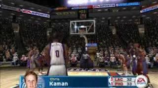 NBA Live 06 Gameplay
