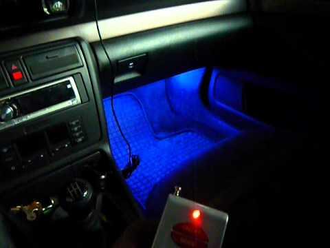 Podswietlenie Led Rgb Audi A4 19 Tdi
