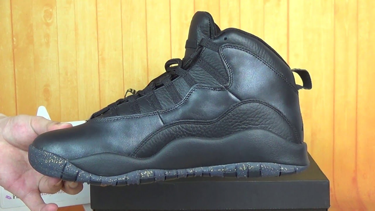 "0245d4fd83f Authentic Air Jordan 10 ""NYC"" HD Unboxing Review From authenticaj ..."