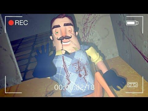 Escena Secreta Donde Muere El Vecino En Hello Neighbor  Wtf !!