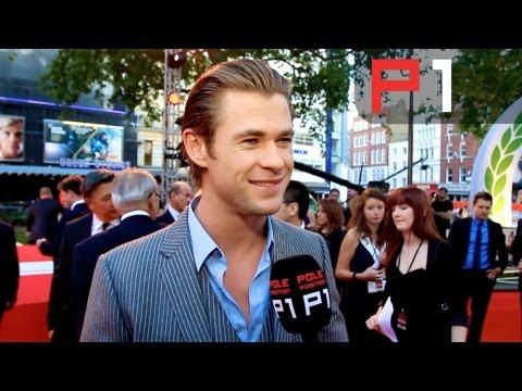 RUSH movie premiere - Chris Hemsworth, Ron Howard, Niki Laud