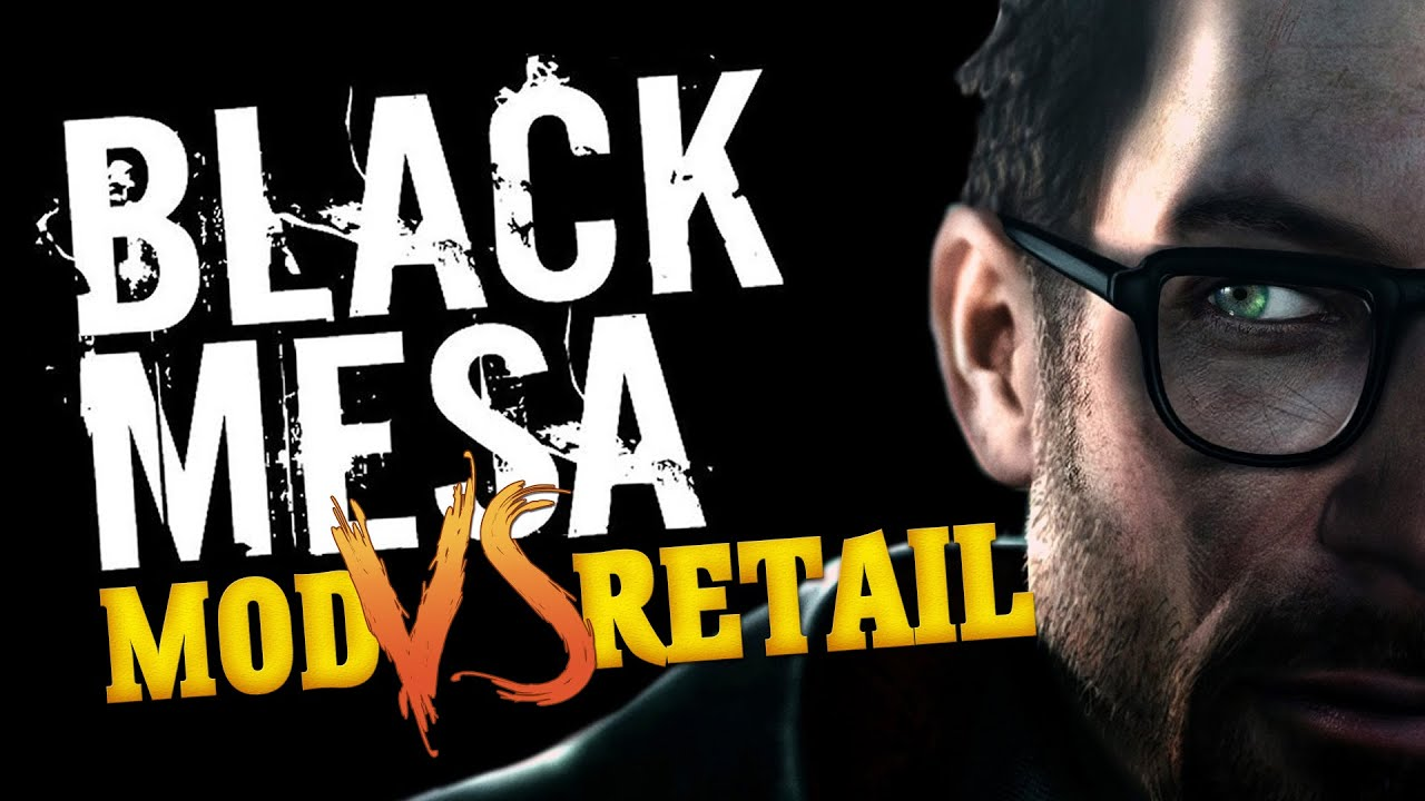 Black mesa graphics comparison mod vs retail version for Operation black mesa download