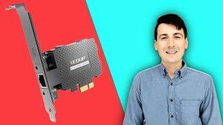 EDUP Gigabit Ethernet PCI-E Network Card Installation & Review