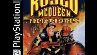 Rosco Mcqueen Fire Fighter Extreme