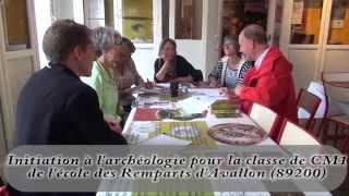 Journée Archéologique Enfants à Avallon 89200