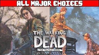 Video THE WALKING DEAD SEASON 4 All Major Choices & All Endings - Ending download MP3, 3GP, MP4, WEBM, AVI, FLV September 2018