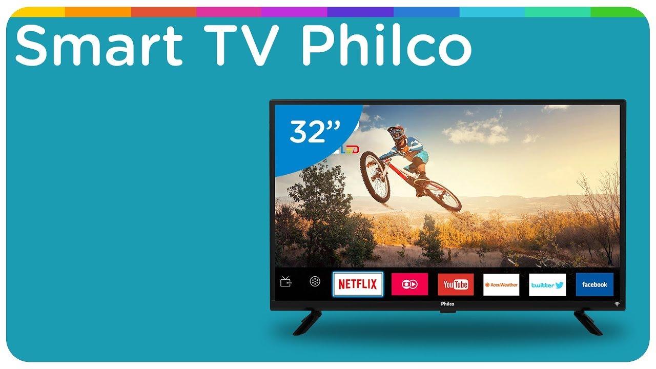 "a91b3824183 Smart TV LED 32"" Philco PTV32G50SN - YouTube"