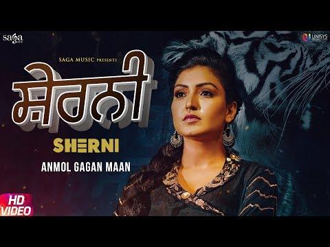 Sherni Full Song Video Anmol Gagan Maan  New Punjabi Song 2019  Saga Music  Jatti Sher