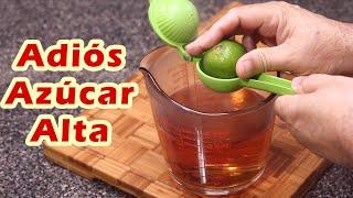Bebe Esto Como Té o Agua De Uso y ADIÓS AZÚCAR ALTA: Alta También Baja El Colesterol y Triglicéridos