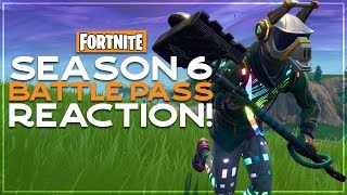 Season 6 Battle Pass Reaction - Fortnite Battle Royale - Drnkie