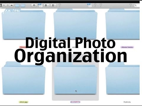 How I Organize My Pictures: Digital Photo Organization