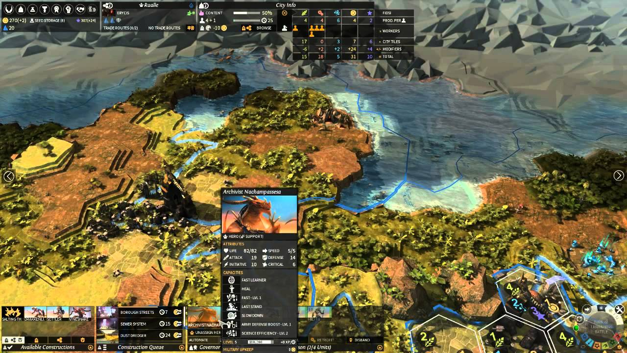 (Live!) Endless Legend Multiplayer - YouTube