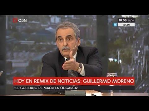 Guillermo Moreno en C5N 12/11/17 Completo