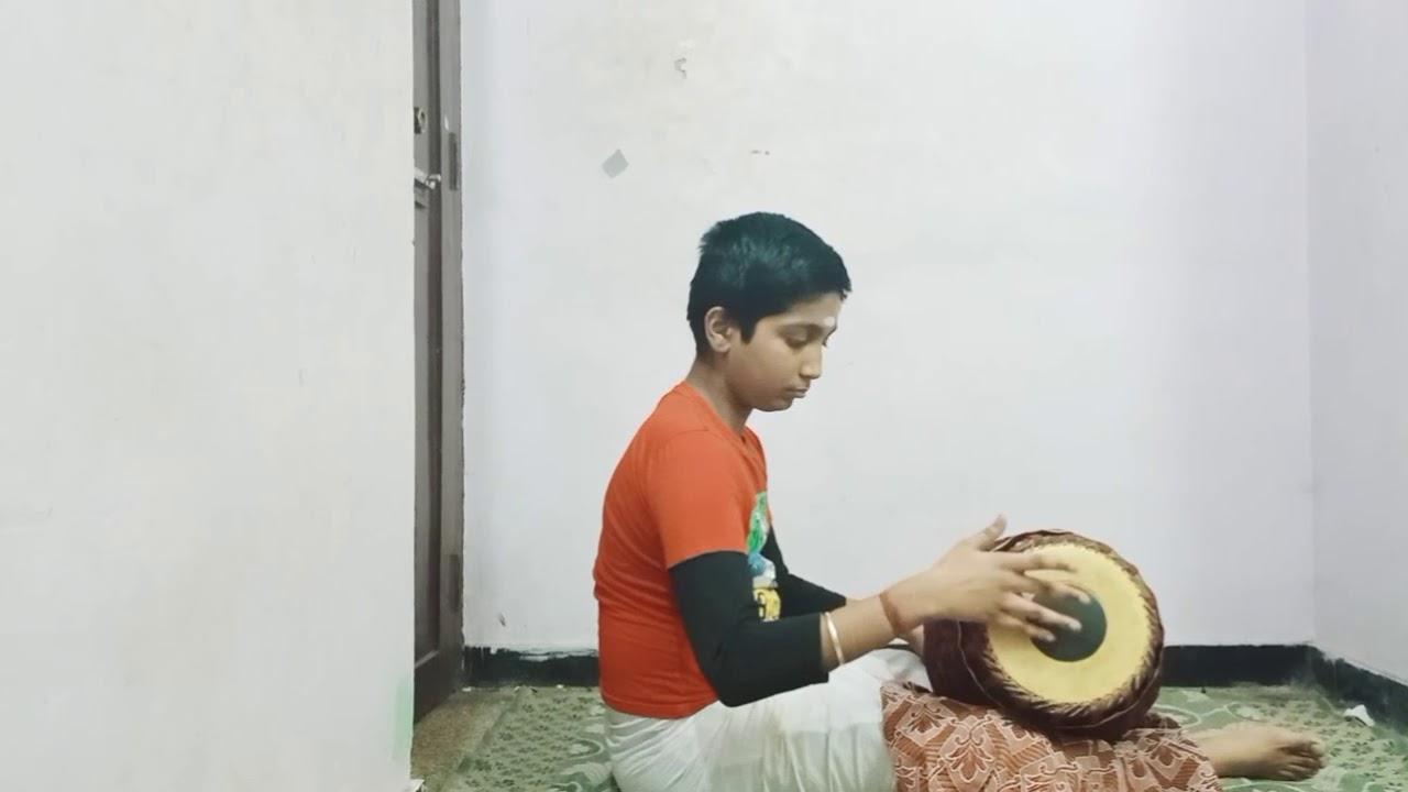 Adhi thalam korvai by Abishekviswanathan