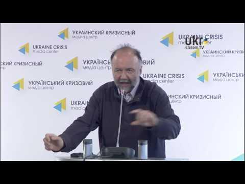 Andriy Kurkov. Ukraine Crisis Media Center. March 7, 2014
