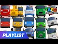 Playlist Dance Party for Cars Learn Colors Song  The Brave Cars Tayo and Friends