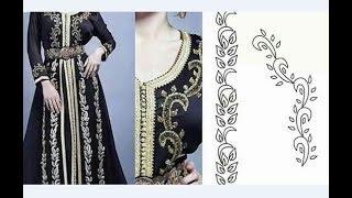 اكثر من 50 رشمة مع التطبيق ديالهاhand embroidery