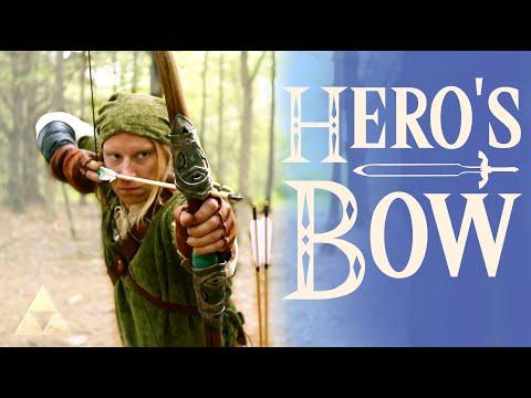 Real Zelda: Breath of the Wild Hero's Bow! Maker Adventure 2