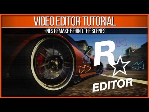 GTA 5 PC Rockstar Video Editor Tutorial (NFS 2015 Trailer Remake Behind the Scenes)
